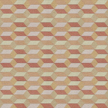 Seamless geometric pattern on textured paper photo