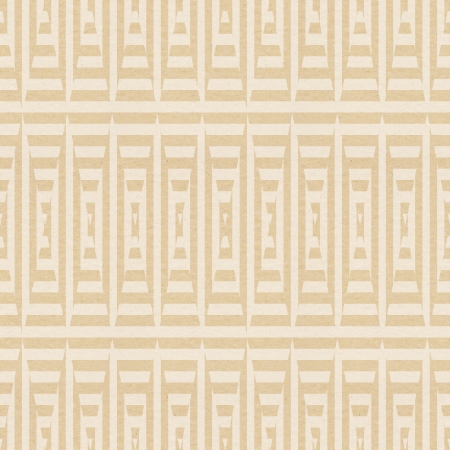 brown textured paper with lined tringle pattern photo