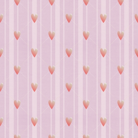 Textured seamless pattern with hearts photo