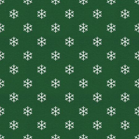 vintage wrapping paper with snowflake pattern photo