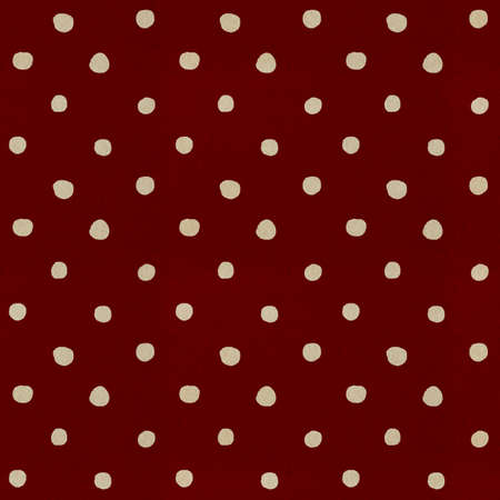 Seamless paper textured polka dots pattern photo