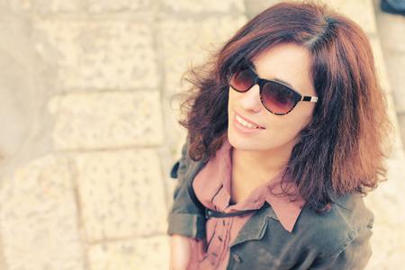 jaffo: Portrait of beautiful 35 years old woman Stock Photo