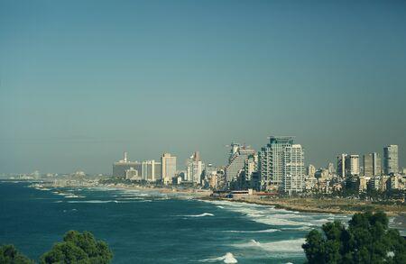 yaffo: views of Tel Aviv