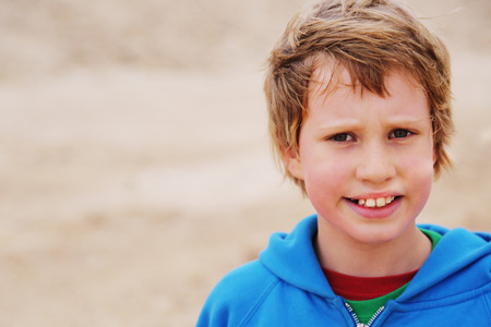 8 years: Portrait of 8 years old cute boy