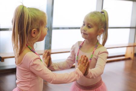5 years old: Cute 5 years old ballerina