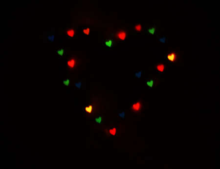 hearts as background. valentines day concept.