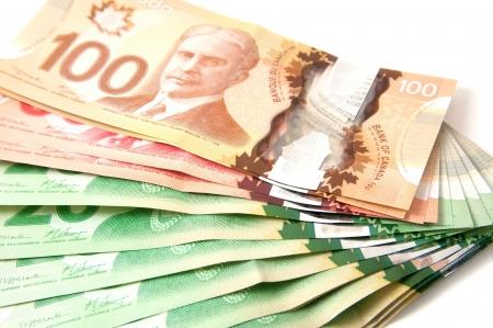 캐나다 지폐, 20, 50, 100 달러