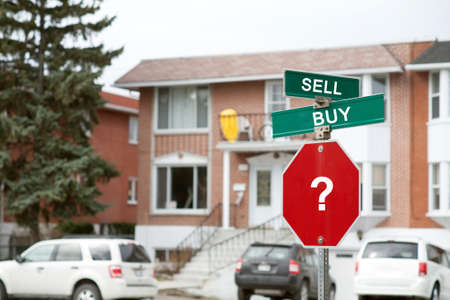 sell: Concept of decision, whether to buy or sell