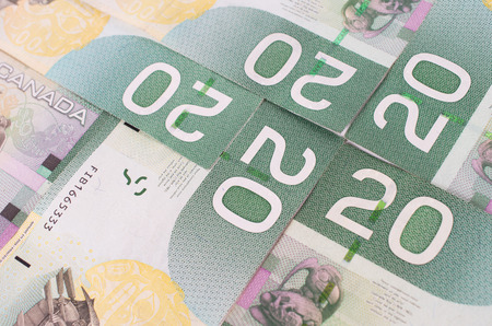 Green bank notes  forming a nice background photo