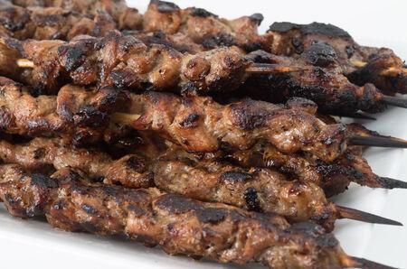 sizzle: Vietnamese pork skewers