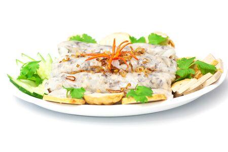 Banh cuon, Vietnamese steamed rice rolls