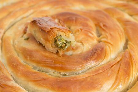 filo: Filo pastry close up studio shot