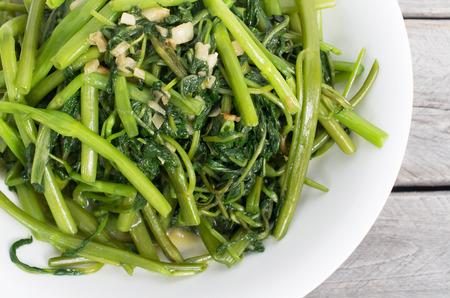 ベトナム炒め揚げ朝顔野菜