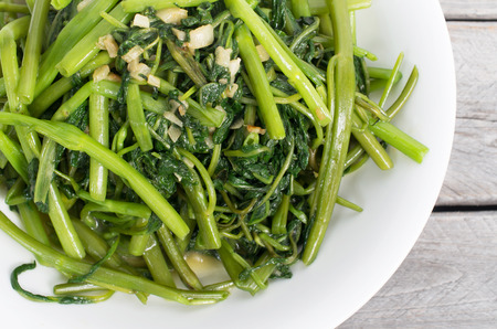 comida gourmet: Revuelo vietnamita ma�ana frito gloria vegetal