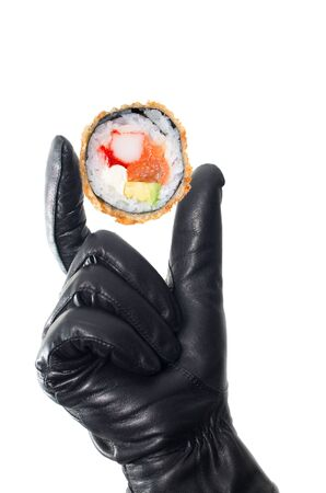 friture: Concept of Japanese food thief