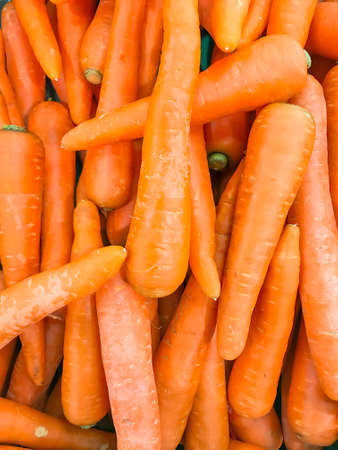 Carrots group background Stock Photo