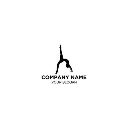 body fit pilates logo design