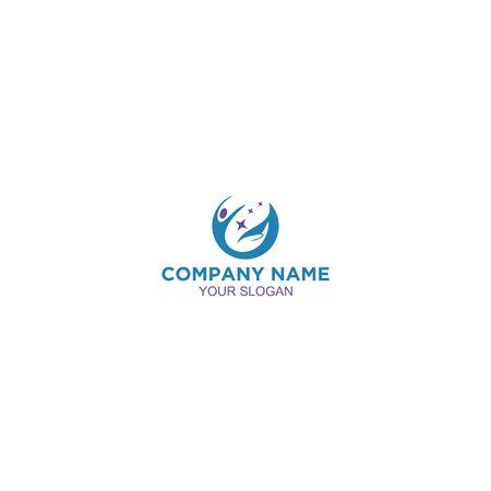 Help Career Logo Design Vector