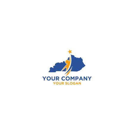 Kentucky Insurance Logo Design Vector