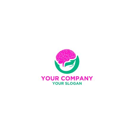 Neuro Care Logo Design Vector