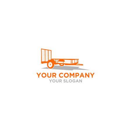 Tex Trailer Logo Design Vector