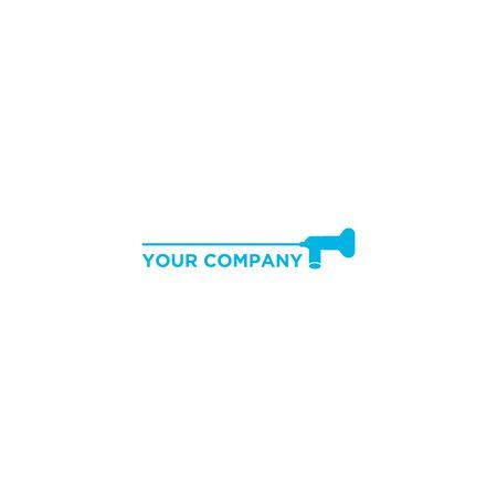 scope medical logo design vector Stock Vector - 128801995