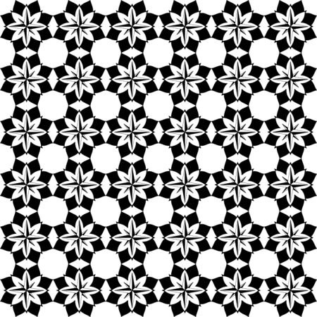 simple batik walpaper vector design Ilustrace
