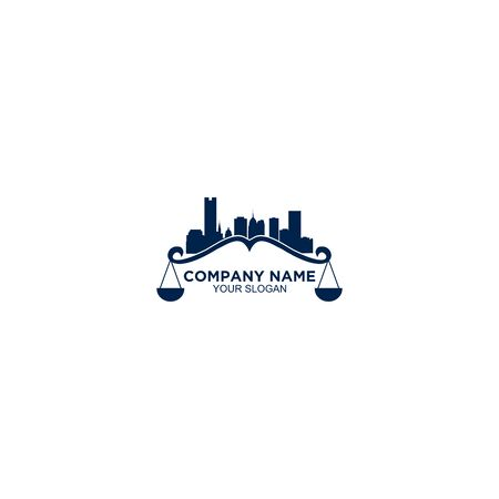 Simple City Law Logo Design