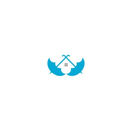 Umbrella Home Loan Logo Design
