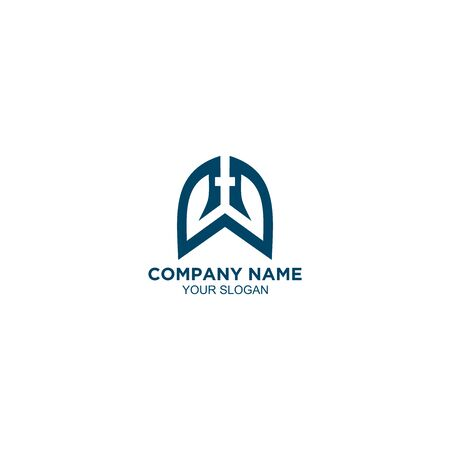 Lungs Church Logo Design Vector