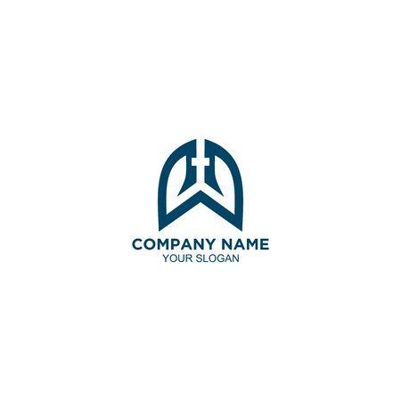 Lungs Church Logo Design Vector Imagens - 129141665