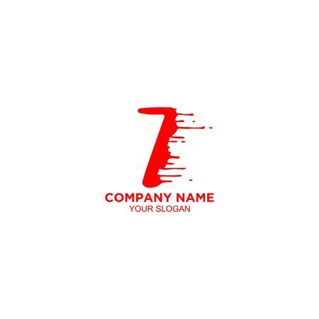 seven blood logo design