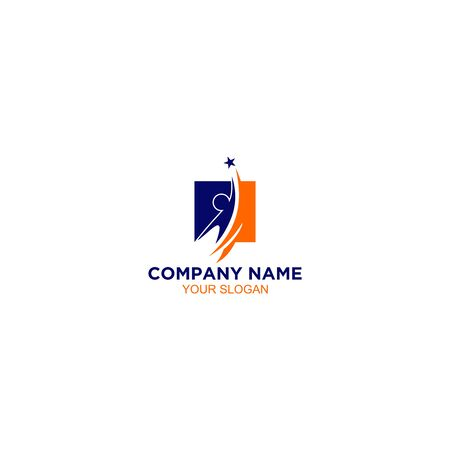 Training Career Logo Design Vector