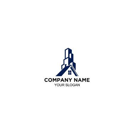 building and home logo design Foto de archivo - 129167153