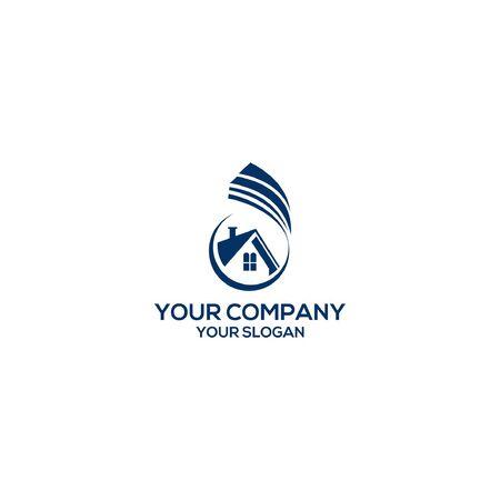 House Property Realty Logo Vector