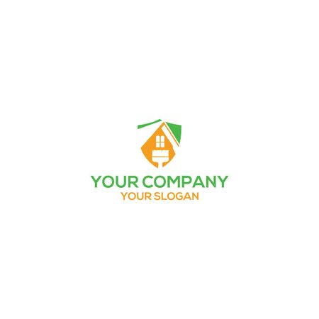 House of Painting Logo Design