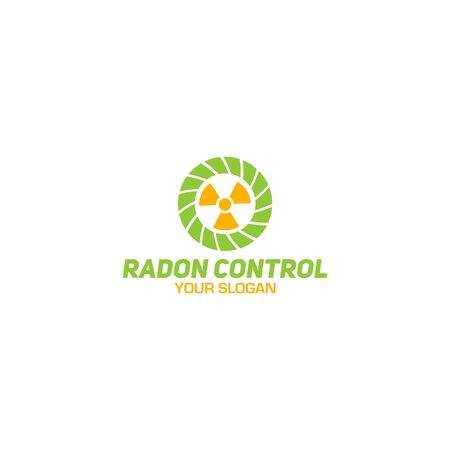 Radon Control Logo Design Vector Logo