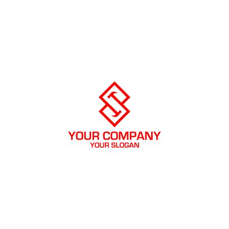 S Hammer Construction Logo Design Vector