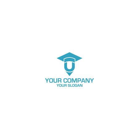 U Education Logo Design Vector