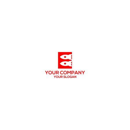 E Rocket Logo Design Vector