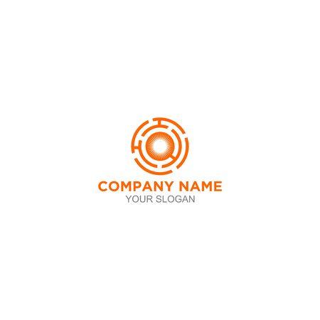 H Horizon Logo Design Vector