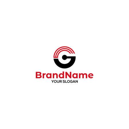 GE Signal Logo Design Vector