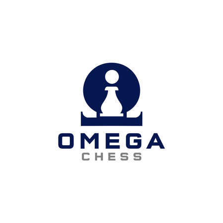 omega symbol with pion symbol chess