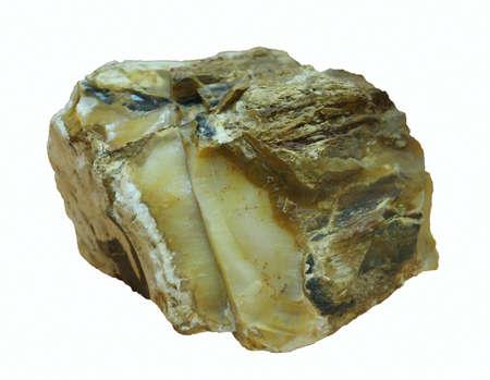 Stone, Isolated on a white background. photo