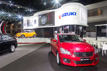 modificar: BKK. THAILAND-JUNE 23 : Status of decorate, design of racing car in Bangkok International Auto Salon 2016, 22-26 June 2016 at Bangkok, Thailand. Event of decoration & modify car of Thailand and Japan.