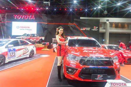 modify: BKK. THAILAND-JUNE 23 : Status of decorate, design of racing car in Bangkok International Auto Salon 2016, 22-26 June 2016 at Bangkok, Thailand. Event of decoration & modify car of Thailand and Japan.