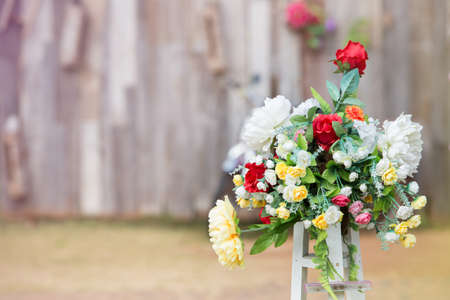 passion fruit flower: Flower decoration in Engagement ceremony