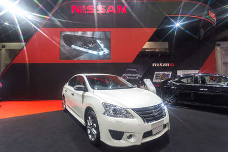 modificar: BKK. THAILAND-JUNE 25 : Status of decorate, design of racing car in Bangkok International Auto Salon 2016, 22-26 June 2016 at Bangkok, Thailand. Event of decoration & modify car of Thailand and Japan. Editorial