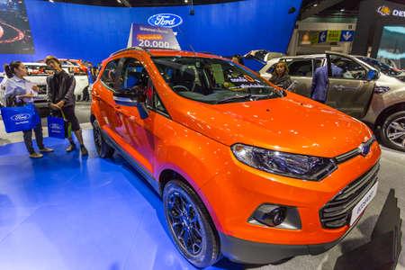 Bangkok, Thailand - December 11, 2016 :  Ford car at Thailand International Motor Expo 2016 (MOTOR EXPO 2016) on December 11,2016 in Bangkok, Thailand. Editorial