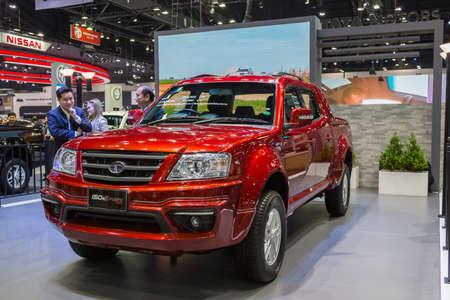Bangkok, Thajsko - 11. prosince 2016: TATA automobil v Thajsku Mezinárodní Motor Expo 2016 (MOTOR EXPO 2016) 11. prosince 2016 v Bangkoku, Thajsko.
